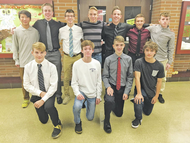 Soccer teammates gathered Nov. 21 to celebrate each others' accomplishments in style.