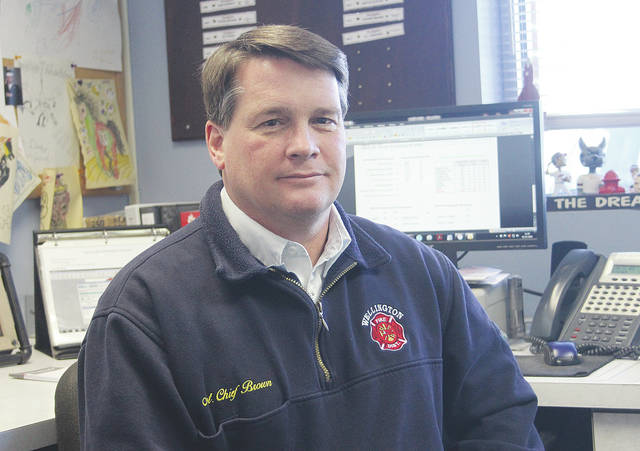 Wellington firefighters responded to a record 547 calls in 2017. Assistant chief Bill Brown said all of Wellington's safety service personnel will take part in post traumatic stress training sometime in the next couple of months.