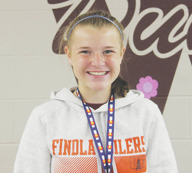 Valedictorian Faith Alley plans to study animal science this fall at the University of Findlay.