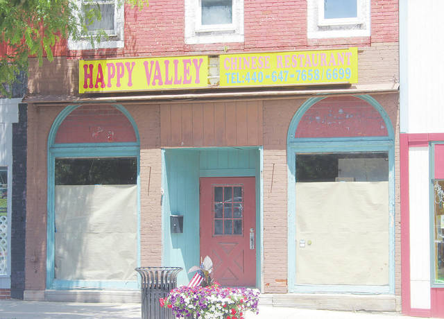 The building formerly occupied by Happy Valley Chinese Restaurant has been purchased for $50,000 by JPW LCC of Spencer.