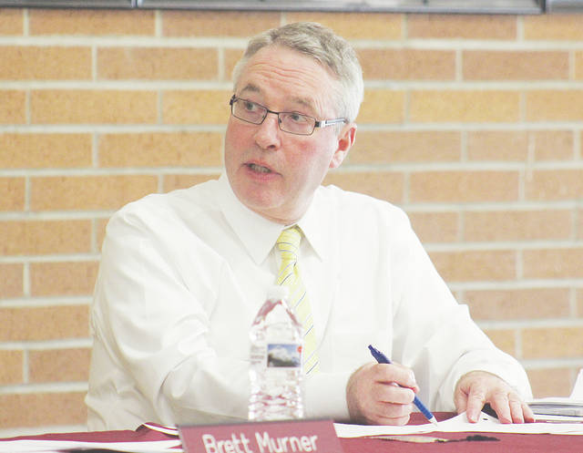 Superintendent Ed Weber and other Wellington education officials are considering a 1.95-mill permanent improvement levy that could be put before village voters as soon as 2019.