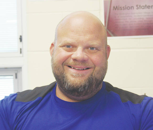 McCormick Middle School principal Nathan Baxendale's building initiatives for this year include accelerated math classes, a new student lounge, and a school-wide achievement day.