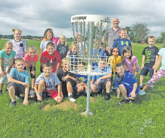 Students and community members can now enjoy a nine-hole disc golf course on the Black River Schools campus.