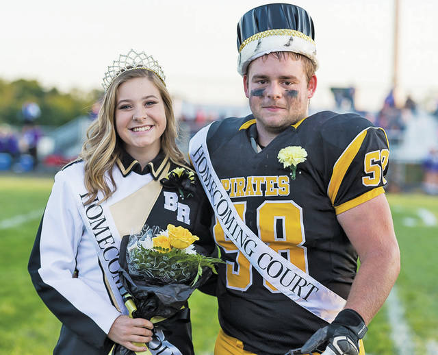 The 2018 Homecoming Queen Libby Dilley and King Mitchell Young.
