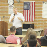 Candidate questioned by WHS students