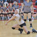 VOLLEYBALL: Tigers didn't stand a chance