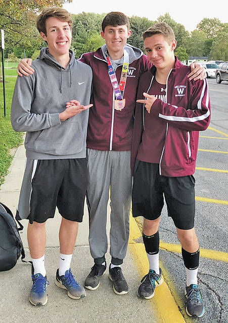 <p style=&quot;text-align: center;&quot;>Sam Becher, Henry Haas, and Logan Evans