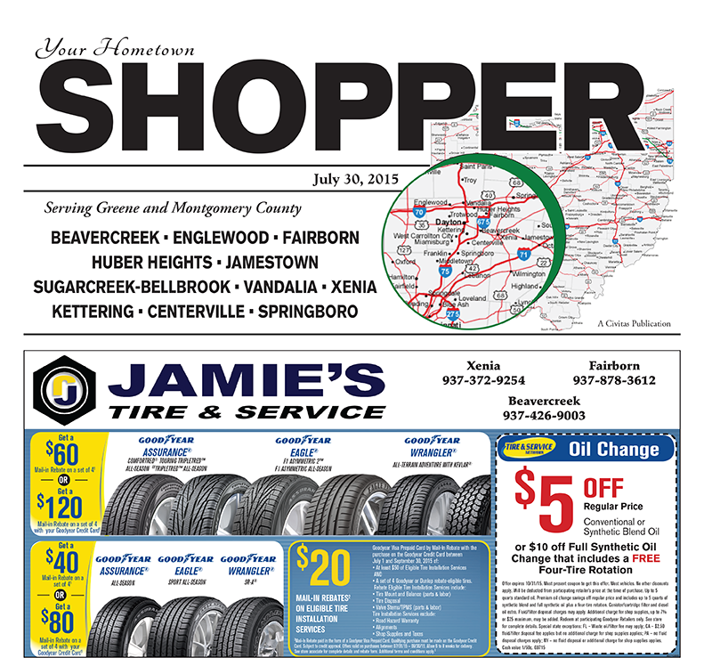 Greene County Shopper 7/30/15