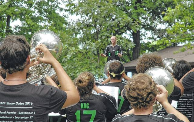 <strong>The Northmont High School Marching Band will perform at noon on Saturday at the Englewood Festival.</strong>