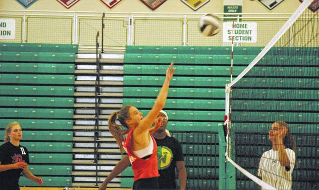 <strong>A total of 33 girls attended tryouts for the Northmont High School volleyball teams on Tuesday.</strong>
