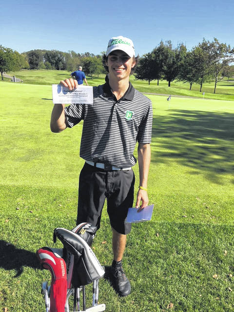 <strong>Cole Stephens posted a score of 80 at the sectional tournament to make it to district as an individual player.</strong>