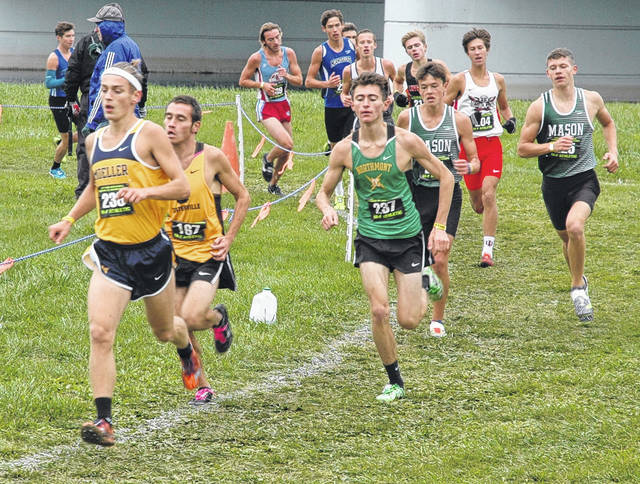<strong>Gage Beireis qualified for the Division I state cross country championship by placing 15th at the Troy regional Saturday with a time of 16:27.37.</strong>