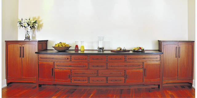 <strong>Above is an example of the higher end custom residential cabinetry offered by Peters Cabinetry.</strong>