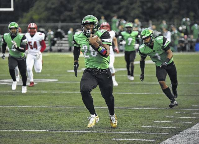 <strong>Northmont running back Devin Kenerly was named Second Team Offense on the Division I All-Ohio football team by the Ohio Prep Sportswriters Association.</strong>