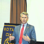 DeFries addresses Northmont Rotary
