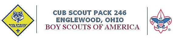 <strong>Cub Scout Pack 246 chartered since 1949 by Englewood United Methodist Church, 107 North Walnut Street, Englewood.</strong>