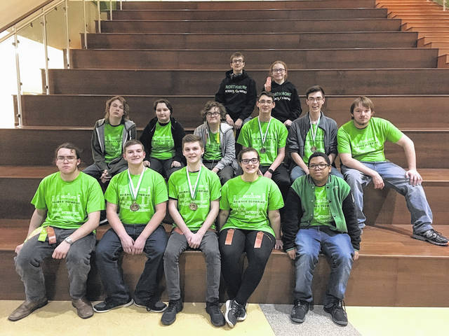 <strong>The High School Science Olympiad team finished fourth out of 14 teams participating at the Northmont Invitational Jan. 13.</strong>