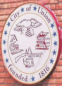 <strong>The seal of the City of Union.</strong>