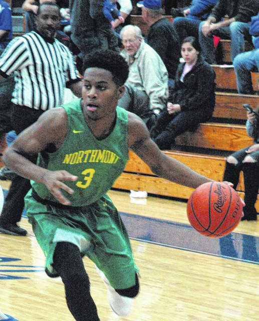 <strong>Cameron Rucker led Northmont with 22 points at Franklin.</strong>