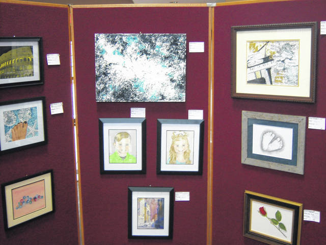 <strong>A variety of artwork produced by local senior citizens is now on display in the lobby of the Englewood Government Center through April 23.</strong>