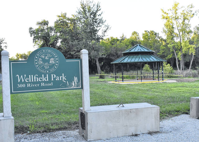 <strong>A gazebo type shelter has been installed at Wellfield Park adjacent to Union Pond on River Road. The city received a grant for the shelter, as well as to purchase six picnic tables, benches and trash receptacles for the pond area as well as a sign.</strong>