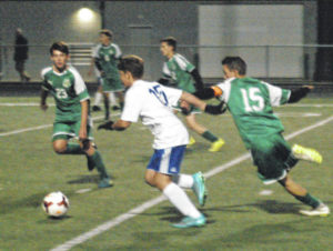 Bolts' second half goals sink Xenia