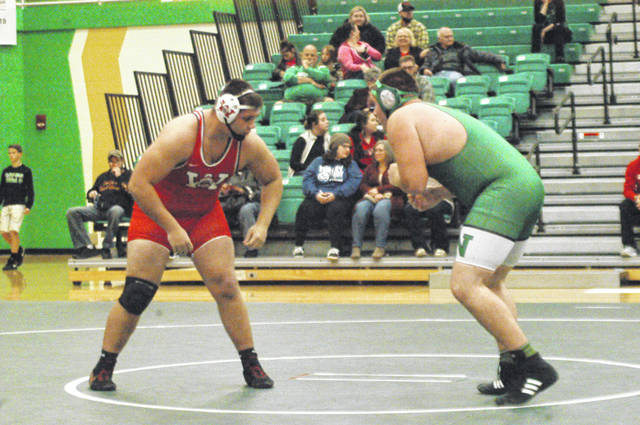 <strong>The area&#8217;s No. 1 ranked heavyweight Jacob Padilla (left) returns to anchor the Wayne wrestling team.</strong>