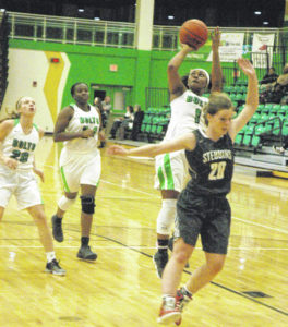 Lady Bolts rout Stebbins for second win