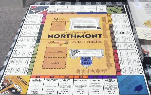 <strong>The 'Game of Northmont'is on display at the Randolph Township History Center, 114 Valleyview Dr., Englewood.</strong>
