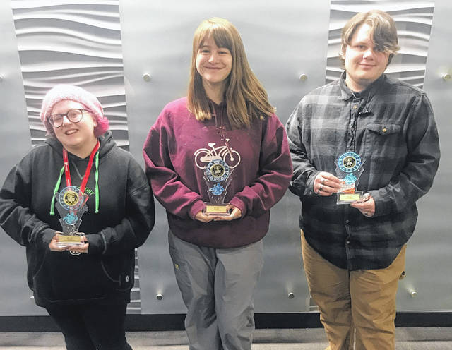 <strong>MVCTC EBITA Department Announces January and February Students of the Month &#8211; Darlene Carter (Northmont), Rachel Sherman (Northmont), and Cameron Bailey (Wayne).</strong>