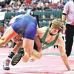 Knick places 6th at state wrestling tourney
