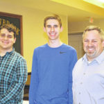 Interact students attend Rotary meeting