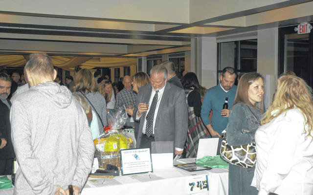 <strong>Area residents and community leaders packed the banquet facility Friday at Meadowbrook at Clayton to support the annual Northmont Education Foundation auction.</strong>