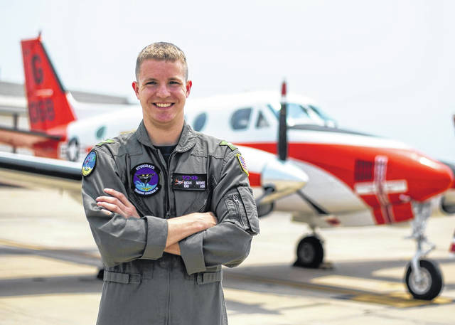 <strong>Micah Moore credits success in the Navy to many of the lessons learned growing up in Union.</strong>