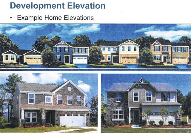 <strong>An example of the types of homes DDC proposes to construct on the former Rupert Farm property, including single story Lifestyle homes and traditional two story single family homes. </strong>(Contributed photo)