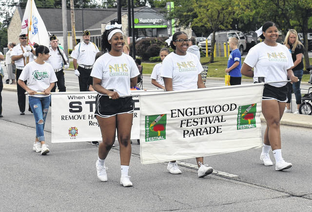 <strong>The parade heads up Union Boulevard to Centennial Park.</strong>