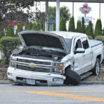No one injured in Saturday collision
