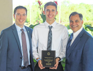Hannsen is the Rotary 'Student of the Month'