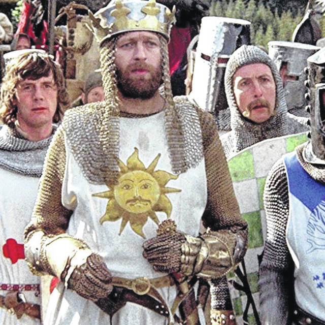 <strong>The next movie slated at the Dayton Dinner Theater Picture Show is Monty Python and The Holy Grail, which will play Sunday, Dec. 1 at 6 p.m.</strong>