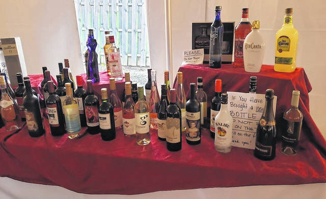 <strong>This photo is for illustration purposes only and may not represent any or all of the spirits featured in the alcohol raffle.</strong>