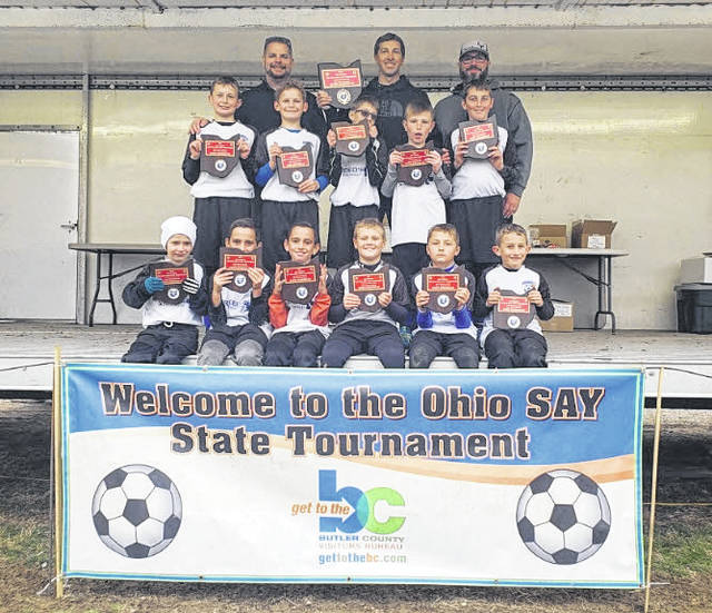The 2019 Brookville boys Wings SAY team. They finished second in the recent OHIO State SAY tournament.