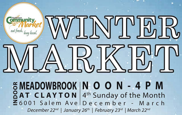 <strong>The Winter Market will be open on the fourth Sunday of every month December through March from noon until 4 p.m.</strong>