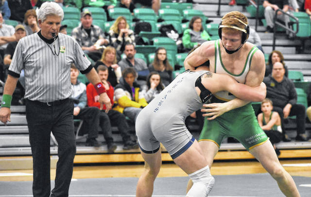 <strong>Andrew Knick tied the school record for most career victories of 161 by pinning Nolan Boyle of Edgewood.</strong>