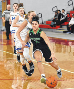 Lady Bolts fall in 1st round of tourney