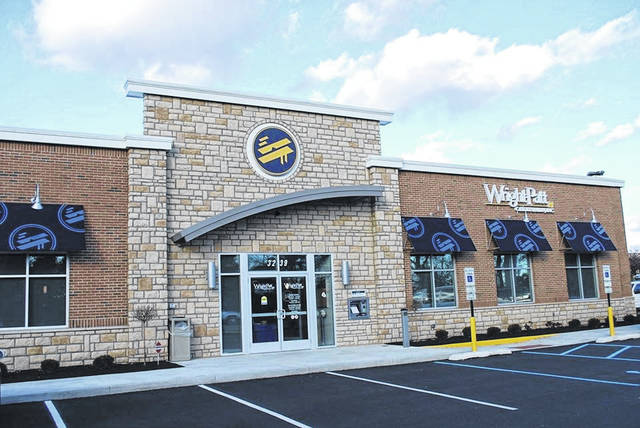 <strong>The new Wright Patt Credit Union branch slated for development at 950 Union Blvd. will look similar to the one pictured above, which is located at 3239 W. Siebenthaler Ave. in Dayton.</strong>