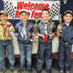 Local Cub Scouts hold Pinewood Derby
