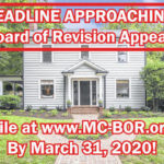 Property value appeal deadline still March 31