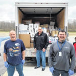 MVCTC donating supplies to service area