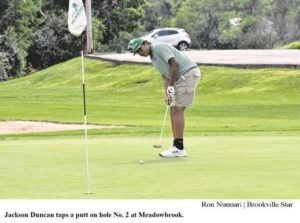 Bolts lose to Beavercreek in boys golf
