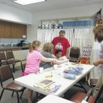 Hisey visits Jeffersonville Library